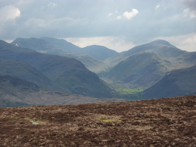Looking south from High Tove