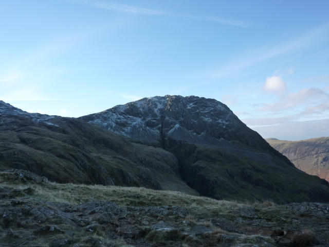 Lingmell from the Corridor route
