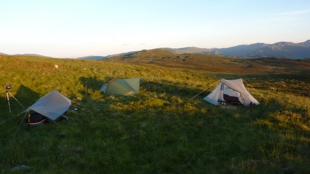 Wild camp on Bleaberry Fell