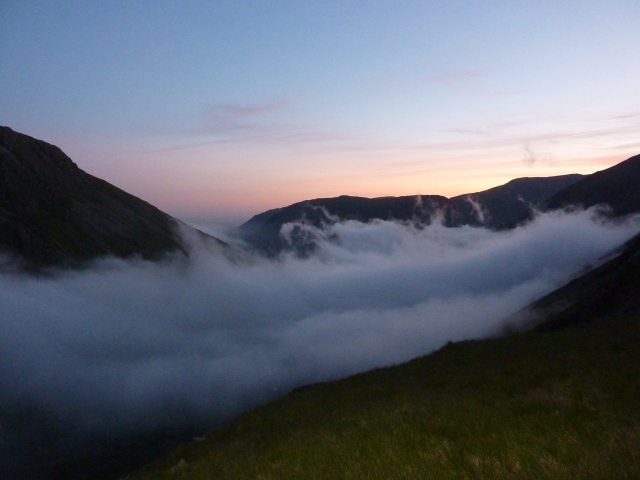 Temperature inversion - Great Gable