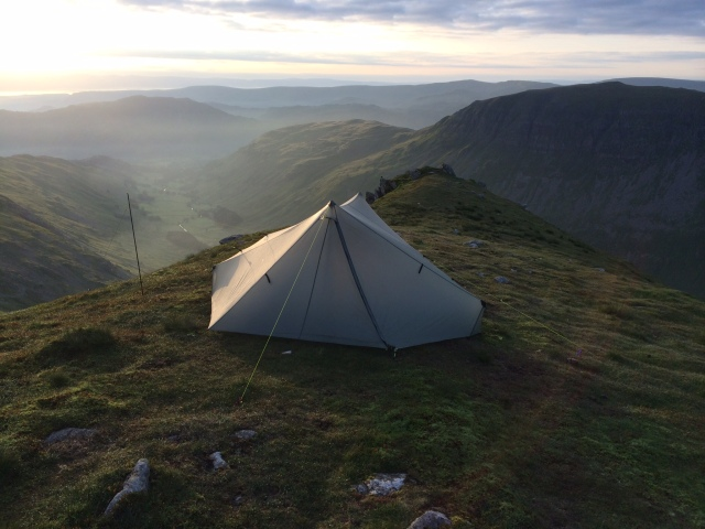 Wild camp on Nethermost Pike