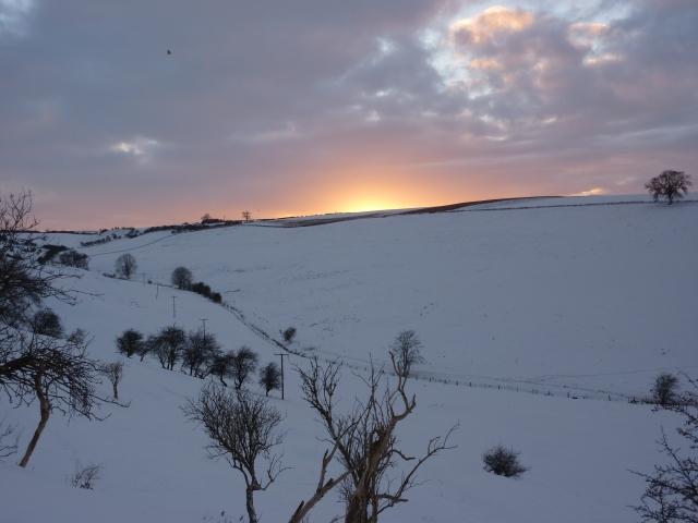 Mid winter near Nettleton top