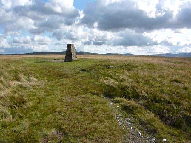 Trig point at Load pot Hill