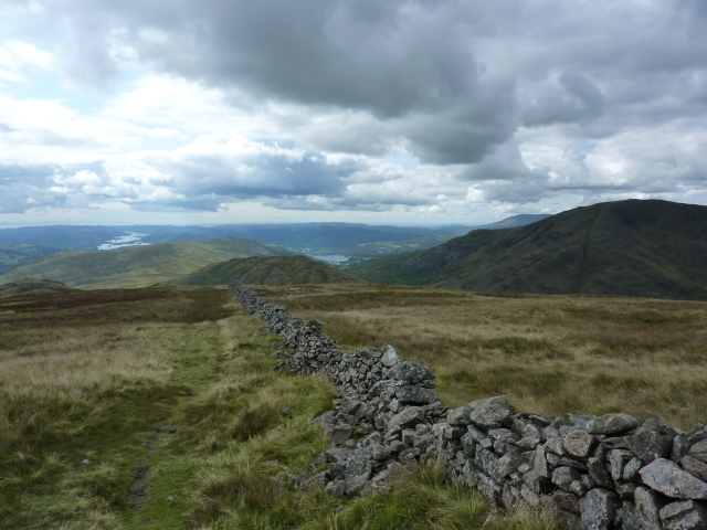 St Ravens's Edge with Lake Windermere in the far distant