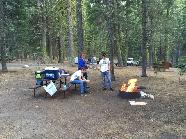 All campgrounds have fire rings