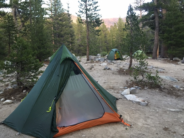 Wickiup 3 SUL in Eastern Sierras, California.